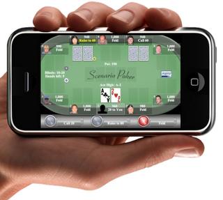Покер на Iphone