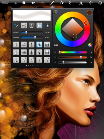 SketchBook Pro for iPad 2.4